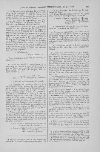 Tome 66 : Du 3 au 19 juin 1793 - page 439