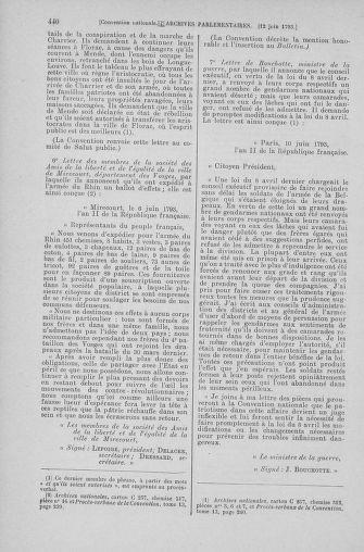 Tome 66 : Du 3 au 19 juin 1793 - page 440
