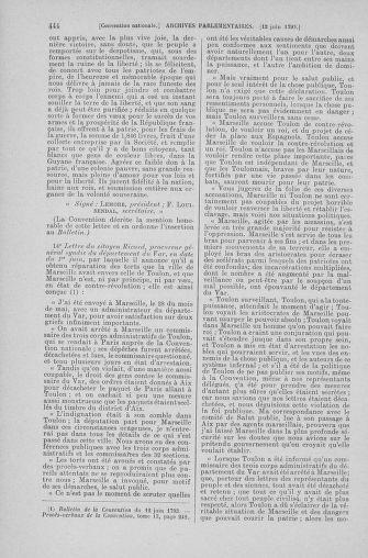 Tome 66 : Du 3 au 19 juin 1793 - page 444