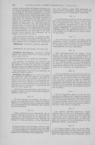 Tome 66 : Du 3 au 19 juin 1793 - page 448