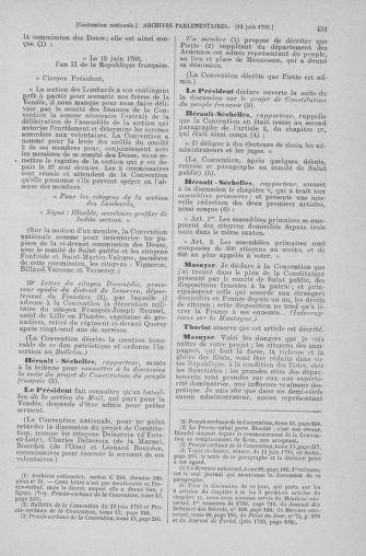 Tome 66 : Du 3 au 19 juin 1793 - page 451
