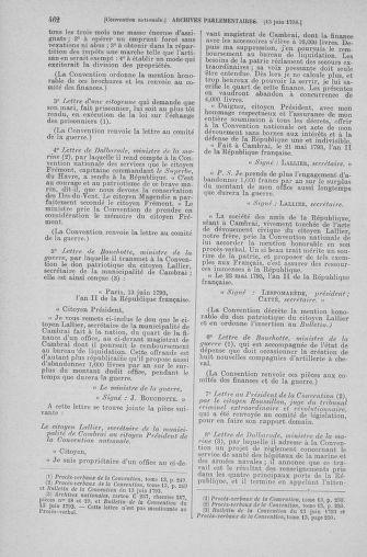 Tome 66 : Du 3 au 19 juin 1793 - page 462