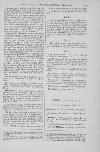 Tome 66 : Du 3 au 19 juin 1793 - page 509