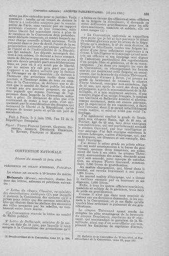 Tome 66 : Du 3 au 19 juin 1793 - page 531