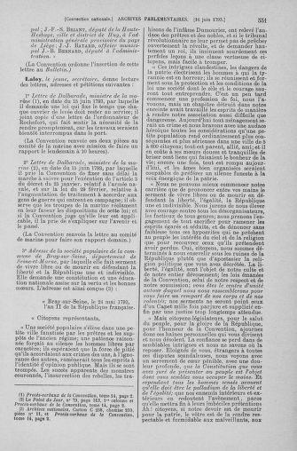 Tome 66 : Du 3 au 19 juin 1793 - page 551