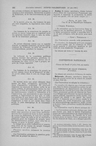 Tome 66 : Du 3 au 19 juin 1793 - page 586