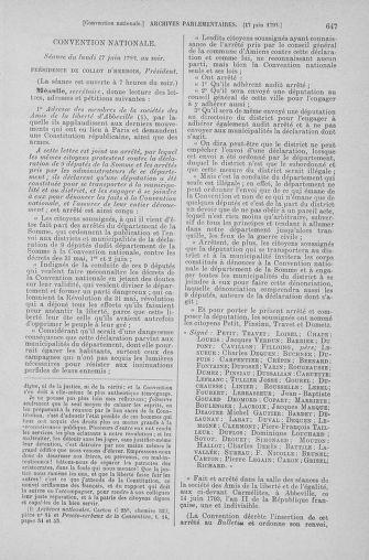 Tome 66 : Du 3 au 19 juin 1793 - page 647