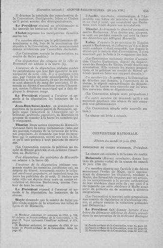 Tome 66 : Du 3 au 19 juin 1793 - page 653