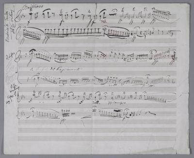 Untexted cadenzas in Lind's hand