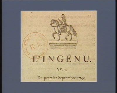 L' Ingénu [estampe]