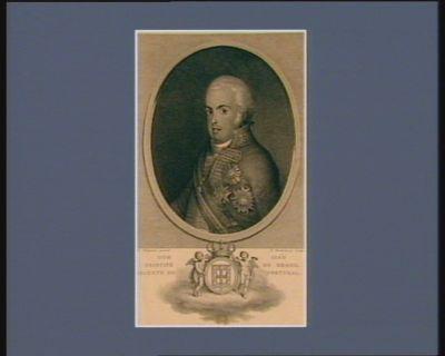 Dom Ioao principe do Brazil regente de Portugal [estampe]
