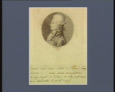 Chevalier de St Louis ancien mousquetaire du Roy Edmond Louis Alexis Dubois de Crancé député du baillage de Vitry-le-François né à Charleville le 24 8.bre 1747 : [dessin]