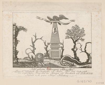 Acht geheim verborgene Silhouetten Franz II, Wilhelm II, die Churfürsten von Mainz, Trier und Coeln nebst dem unglücklichen König und der Königin von Frankreich und Ludwick XVII : [estampe]