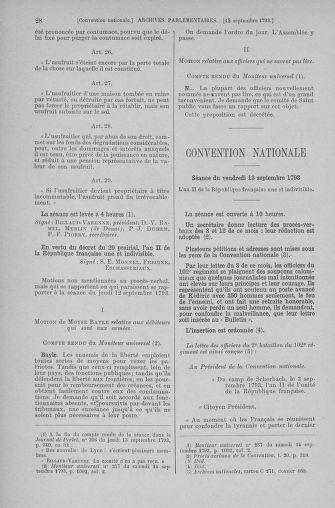 Tome 74 : Du 12 au 22 septembre 1793 - page 28