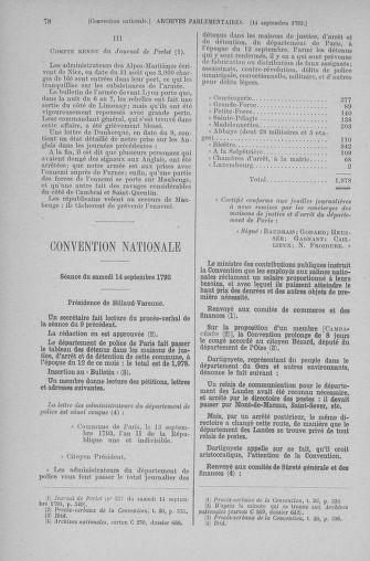 Tome 74 : Du 12 au 22 septembre 1793 - page 78