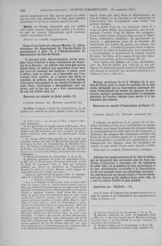 Tome 74 : Du 12 au 22 septembre 1793 - page 350