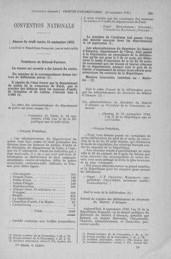 Tome 74 : Du 12 au 22 septembre 1793 - page 385