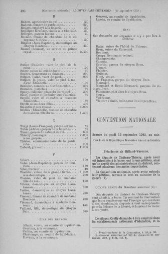 Tome 74 : Du 12 au 22 septembre 1793 - page 496