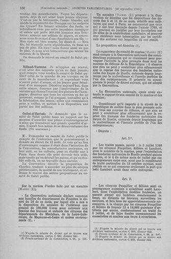 Tome 74 : Du 12 au 22 septembre 1793 - page 536