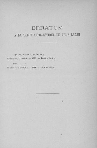 Tome 74 : Du 12 au 22 septembre 1793 - page ..