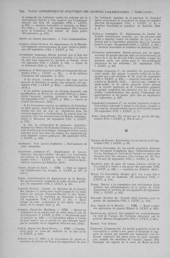 Tome 74 : Du 12 au 22 septembre 1793 - page 768