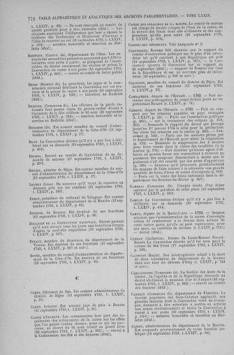Tome 74 : Du 12 au 22 septembre 1793 - page 772