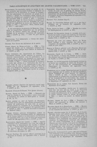 Tome 74 : Du 12 au 22 septembre 1793 - page 781