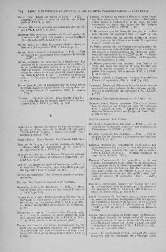 Tome 74 : Du 12 au 22 septembre 1793 - page 784