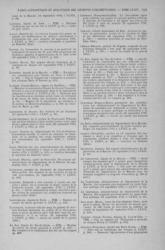 Tome 74 : Du 12 au 22 septembre 1793 - page 793