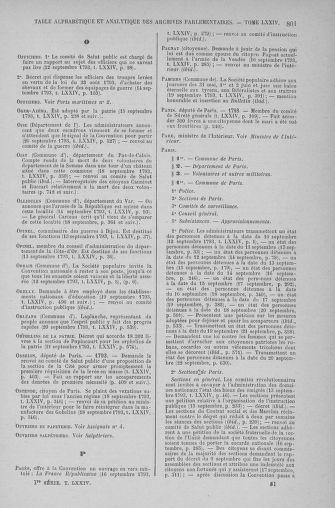 Tome 74 : Du 12 au 22 septembre 1793 - page 801
