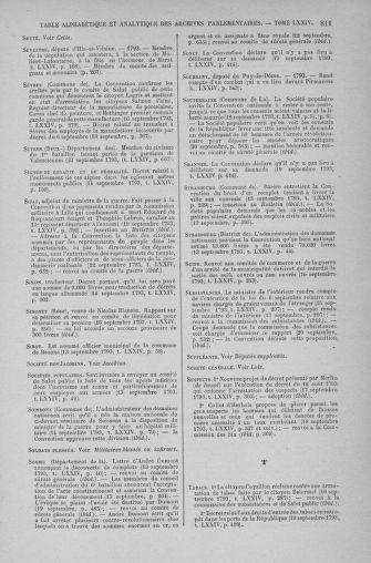 Tome 74 : Du 12 au 22 septembre 1793 - page 811