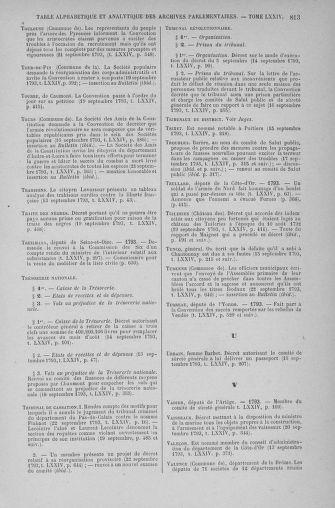 Tome 74 : Du 12 au 22 septembre 1793 - page 813
