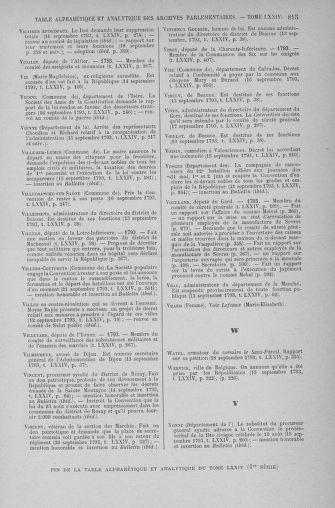 Tome 74 : Du 12 au 22 septembre 1793 - page 815