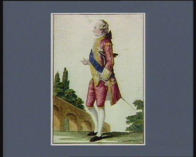 Charles Philippe de France, comte d'Artois, frêre du Roy [estampe]