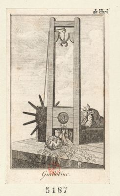 French Revolution Digital Archive: Guillotine [estampe]