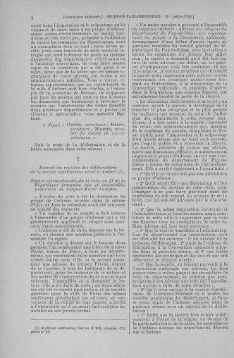 Tome 68 : Du 1er au 14 juillet 1793 - page 4