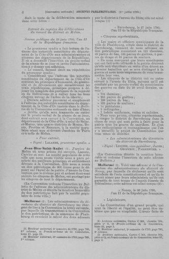Tome 68 : Du 1er au 14 juillet 1793 - page 6