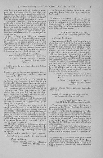 Tome 68 : Du 1er au 14 juillet 1793 - page 9