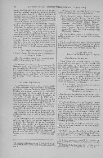 Tome 68 : Du 1er au 14 juillet 1793 - page 10