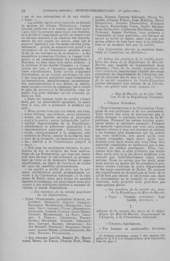 Tome 68 : Du 1er au 14 juillet 1793 - page 12