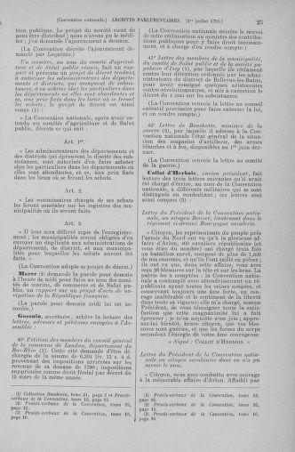 Tome 68 : Du 1er au 14 juillet 1793 - page 25