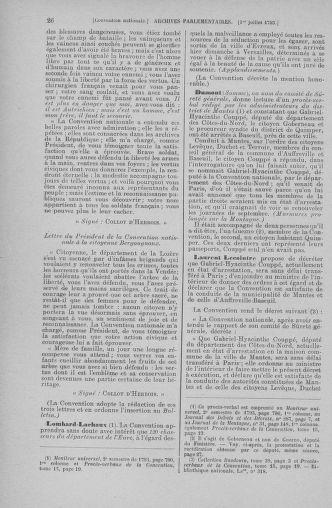 Tome 68 : Du 1er au 14 juillet 1793 - page 26