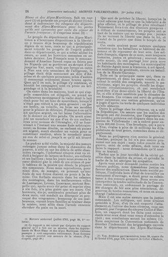 Tome 68 : Du 1er au 14 juillet 1793 - page 28