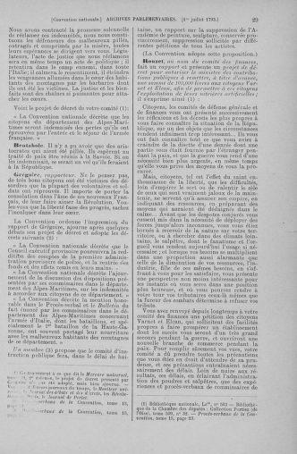 Tome 68 : Du 1er au 14 juillet 1793 - page 29