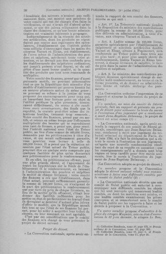 Tome 68 : Du 1er au 14 juillet 1793 - page 30