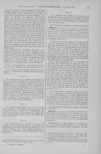 Tome 68 : Du 1er au 14 juillet 1793 - page 33
