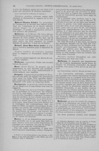 Tome 68 : Du 1er au 14 juillet 1793 - page 38