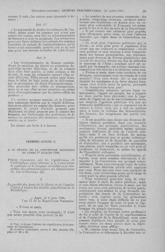 Tome 68 : Du 1er au 14 juillet 1793 - page 39