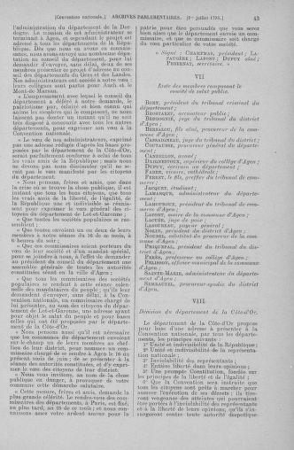 Tome 68 : Du 1er au 14 juillet 1793 - page 43