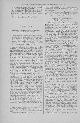 Tome 68 : Du 1er au 14 juillet 1793 - page 48